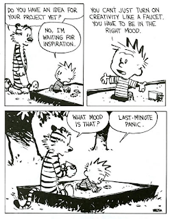 Calvin and Hobbes comic. Credit: B. Watterson