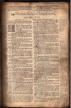 Geneva Bible [John], 1607 AD
