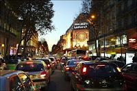 Embouteillages à Paris. Document RTL Info.