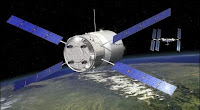 L'AVT Jules Vernes de l'ESA en route vers ISS. Document CNES.
