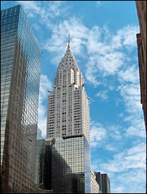 Le Chrysler building au 405 Lexington Avenue, NY. Document Wikimedia.
