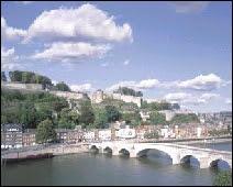 La citadelle de Namur.