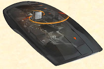 Les deux capteurs MEMS (accéléromètre et gyroscope) cachés sous le capot de la souris Logitech MX Air.
