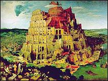 La Tour de Babel. Tableau de Jean Bruegel l'ancien réalisé en 1563.