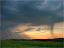 Arrivée d'un front et des précipitations au Luxembourg. Document T.Lombry.
