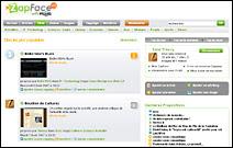 Le score des blogs selon ZapFace.com
