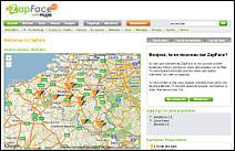 Page d'accueil de Zapface.com