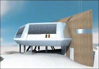 Simulation de la station polaire. Document IPF.