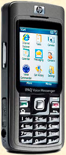 Le smartphone HP iPAQ 514 Voice Messenger.