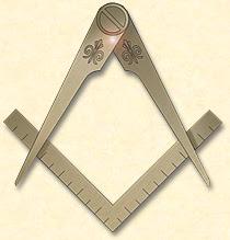 Les deux principaux symboles de la Franc-Maçonnerie.