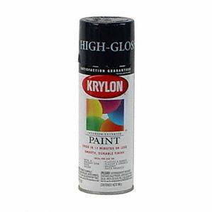 high gloss krylon black paint magic in a can. Black Bedroom Furniture Sets. Home Design Ideas