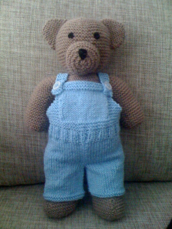 Knitting Patterns For Teddy Bear Outfits : Yoghurt Pudding: New clothes for my teddy bear