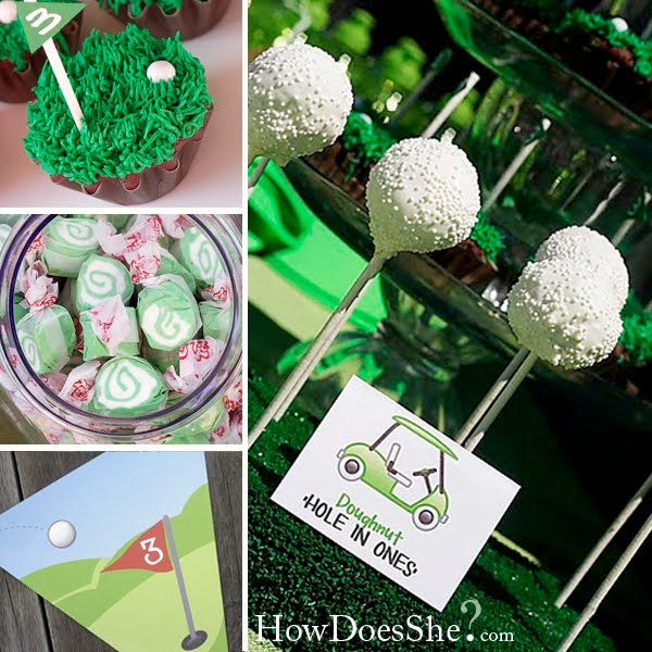 Fort Amp Field Golf Themed Birthday Party