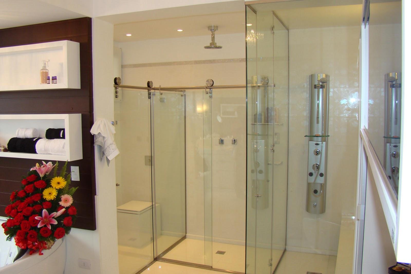 Imagens de #B48117 GERAIS VIDROS: Banheiros Idéias de Box e Espelhos Acabamentos 1600x1067 px 2890 Box Banheiro Ideias