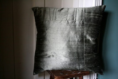 gorgeous handmade silk cushions