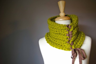 chartreuse cowl by lushpdx