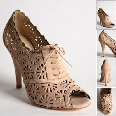 urban outfitters lace up laser cut shoes