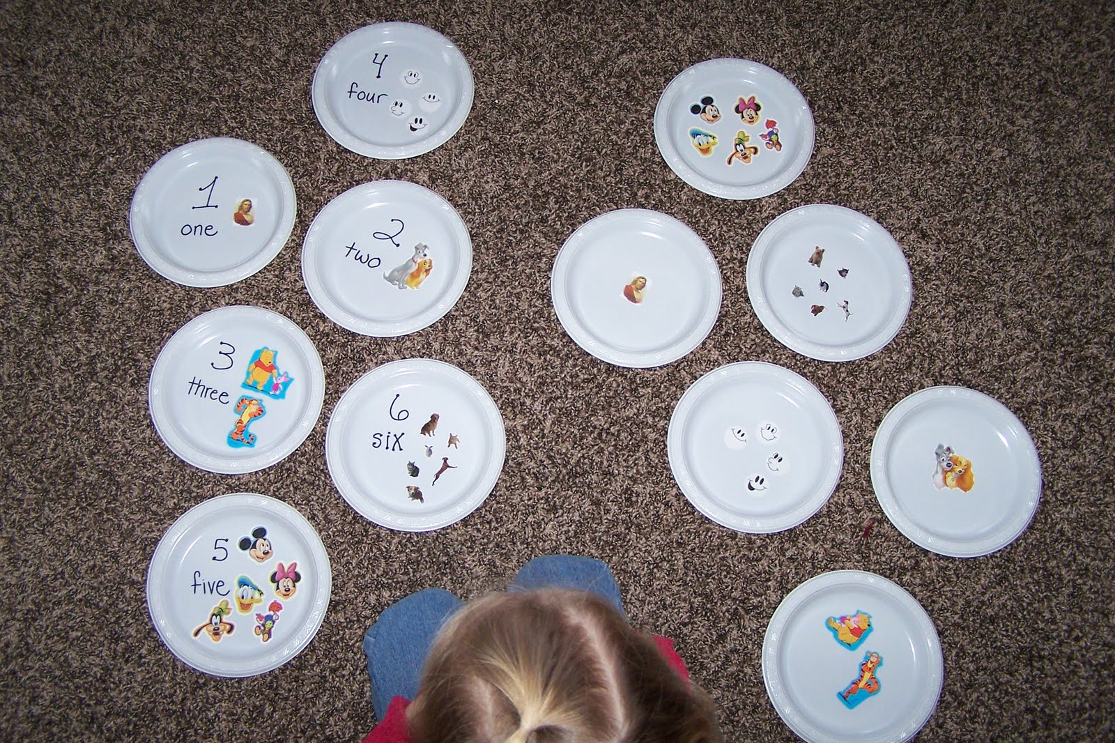 Paper Plate Numbers & Children\u0027s Learning Activities: Paper Plate Numbers