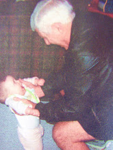 Rick and his grandaughter - Rick is 70 in this picture.
