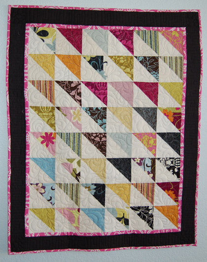 "Moda Bake Shop: Lap Quilt ""In a Jiffy"""