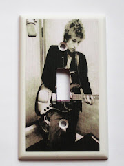 Bob Dylan Light Switch Cover