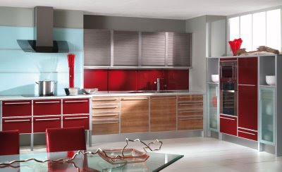 Sleek modern ergonomic kitchen design ideas