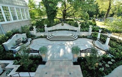 Garden Wedding Landscape, Landscape Architecture - Landscape Design - Landscape Garden