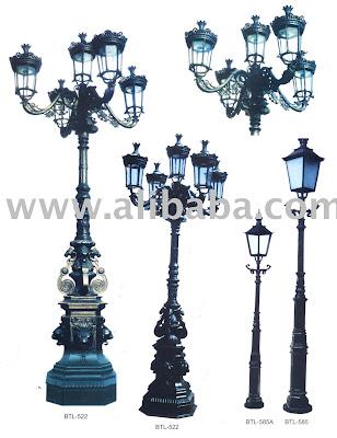 Cast Iron Street Light Outdoor Lighting