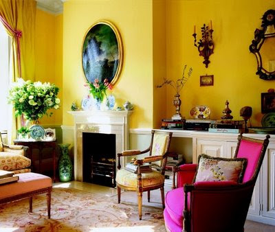 Classic Interior Design on Classic Interior Design And Decoration Living Room Furniture Yellow