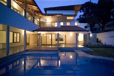 Complete Home Design, Fernandes House in Bangalore, India by Khosla Associates 02