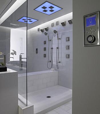 luxury modern bathroom  design