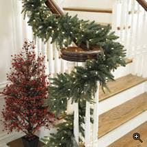 garland+staircase