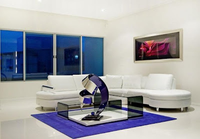 Contemporary Living Room House Design Sofa