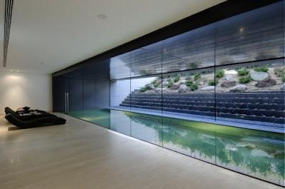 Luxury Landscape Architecture Design House Lounge Design