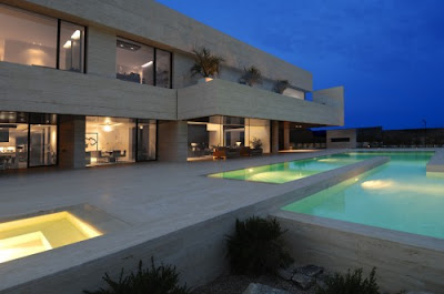 Luxury Landscape Architecture Design House  Facade Design