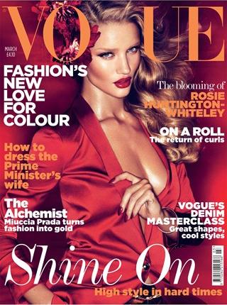rosie huntington whiteley vogue. Rosie Huntington Whiteley,