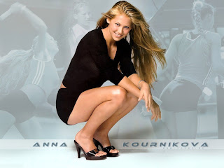 HOT RUSSIAN TENNIS PLAYER-MODEL: ANNA KOURNIKOVA