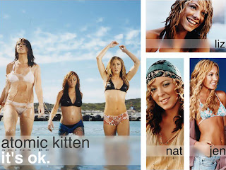 FAMOUS EUROPE POP GIRLS: ATOMIC KITTEN PICTURE 