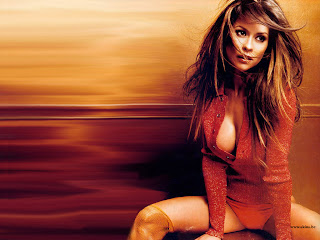 AMERICAN MODEL-DANCER BROOKE BURKE HOT PICTURES