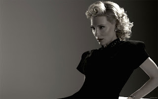 CATE BLANCHETT WALLPAPER IN BLACK DRESS PICTURE