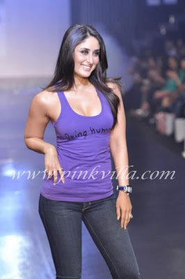 Kareena Kapoor Ramp Pictures at 'Being Human'