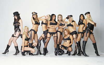 Hot American Pop Girls: Pussycat Dolls Group Photo