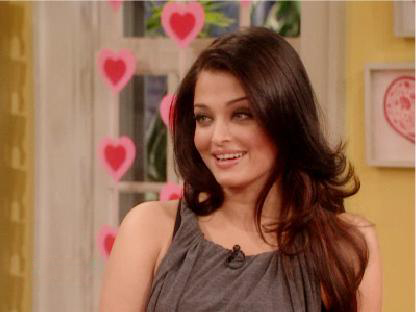Aishwarya Rai At The Martha Stewart Show Pics