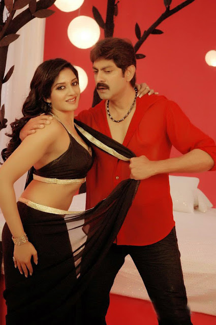 Vimala Raman In 'Chattam' Movie Hot Spicy Song Stills Jagapathi Pics