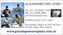 Guia de Pesca en El Rio de La Plata