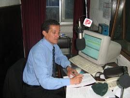 Radio Portales 84 A:M : 21 a 22 horas(www.radioportales.cl) Radio Ritoque de 08  a 09 horas(mañana)