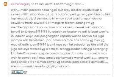 Ciri-ciri Cowo Pelit