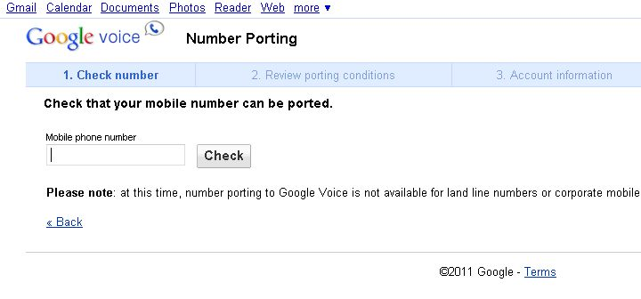 how to get a new google voice number