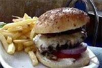 Makanan non Kolesterol Burger Unta