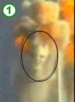 Sosok Syetan Muncul Dibalik Ledakan WTC